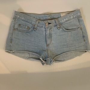 Women's Rag & Bone Distressed Cut-Off Jean Shorts